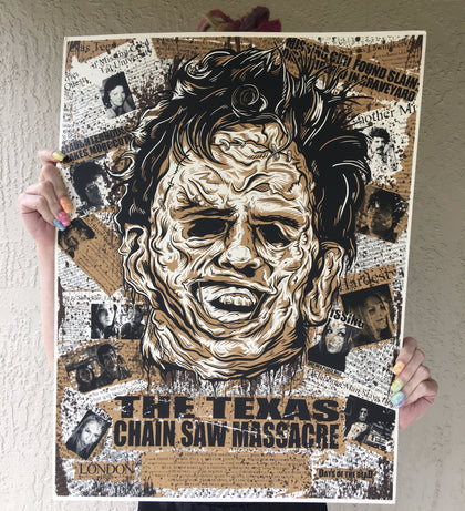 Texas Chain Saw Massacre Limited Edition 18x24
