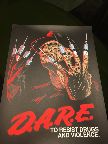 DARE Limited Edition 18x24
