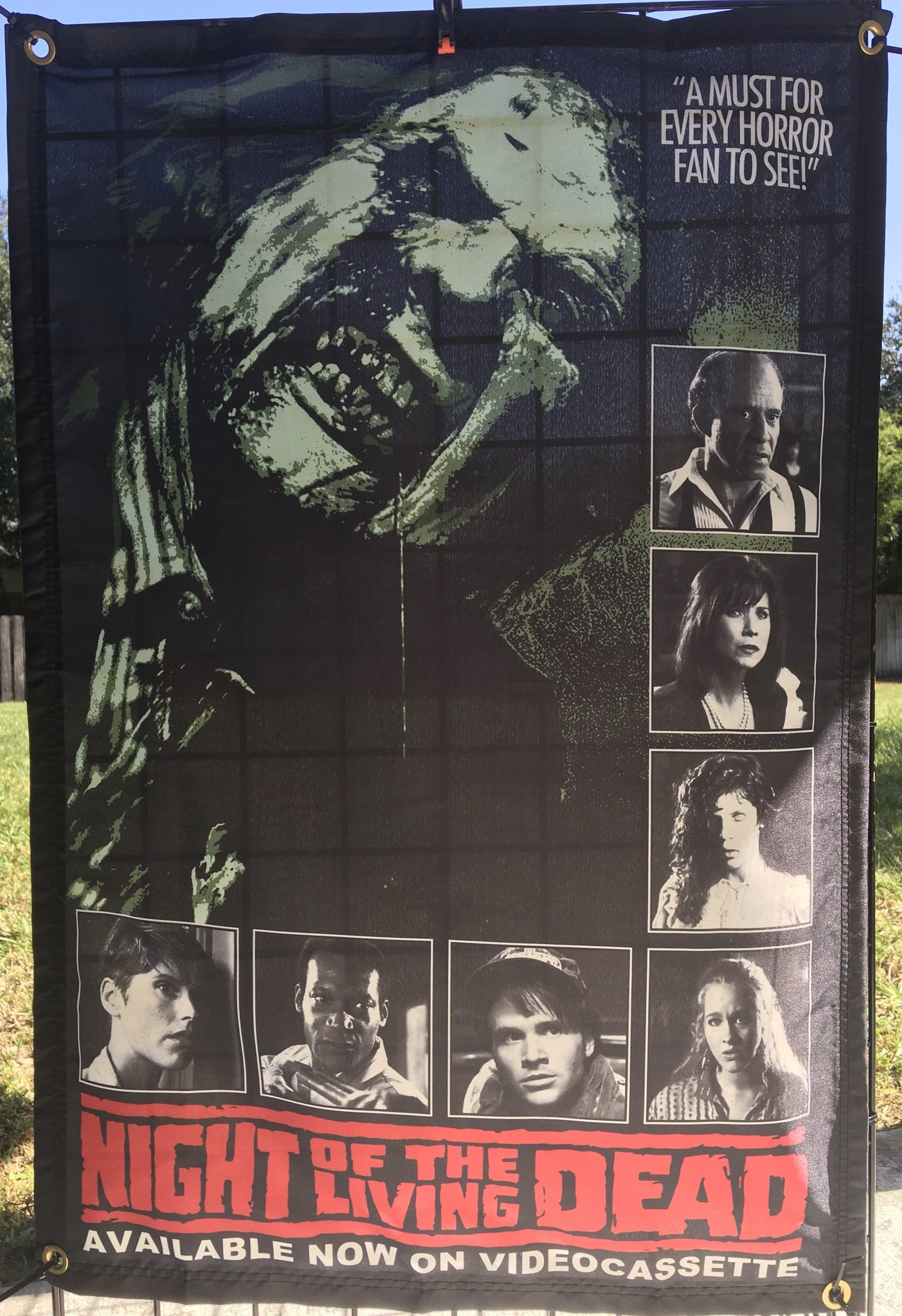 Night of the Living Dead 1990 Wall Tapestry