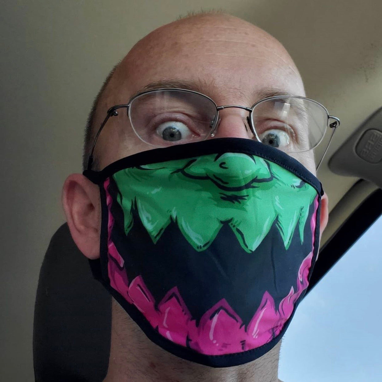 Trapjaw Face Mask