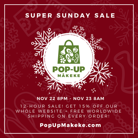 pop up makeke graphic 15% off sale