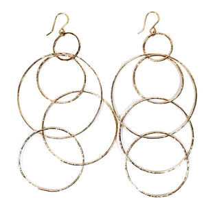 Holoholo Hoop Earrings - 21 Degrees North Designs