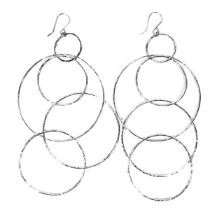 Holoholo Hoop Earrings - 21 Degrees North Designs - 21ºN