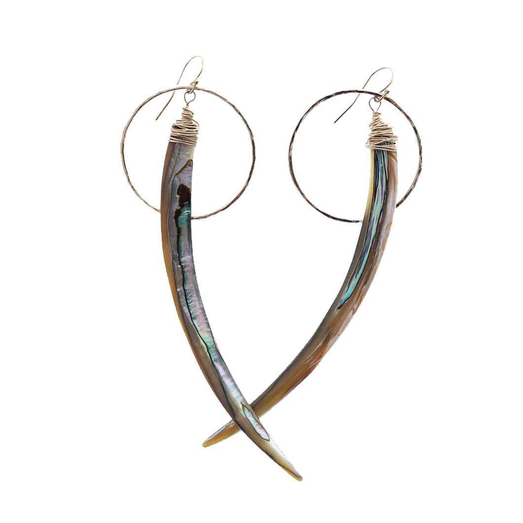 Tassie Spike Earrings - 21 Degrees North Designs - 21ºN
