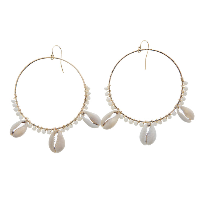 Anuenue Hoop Earrings