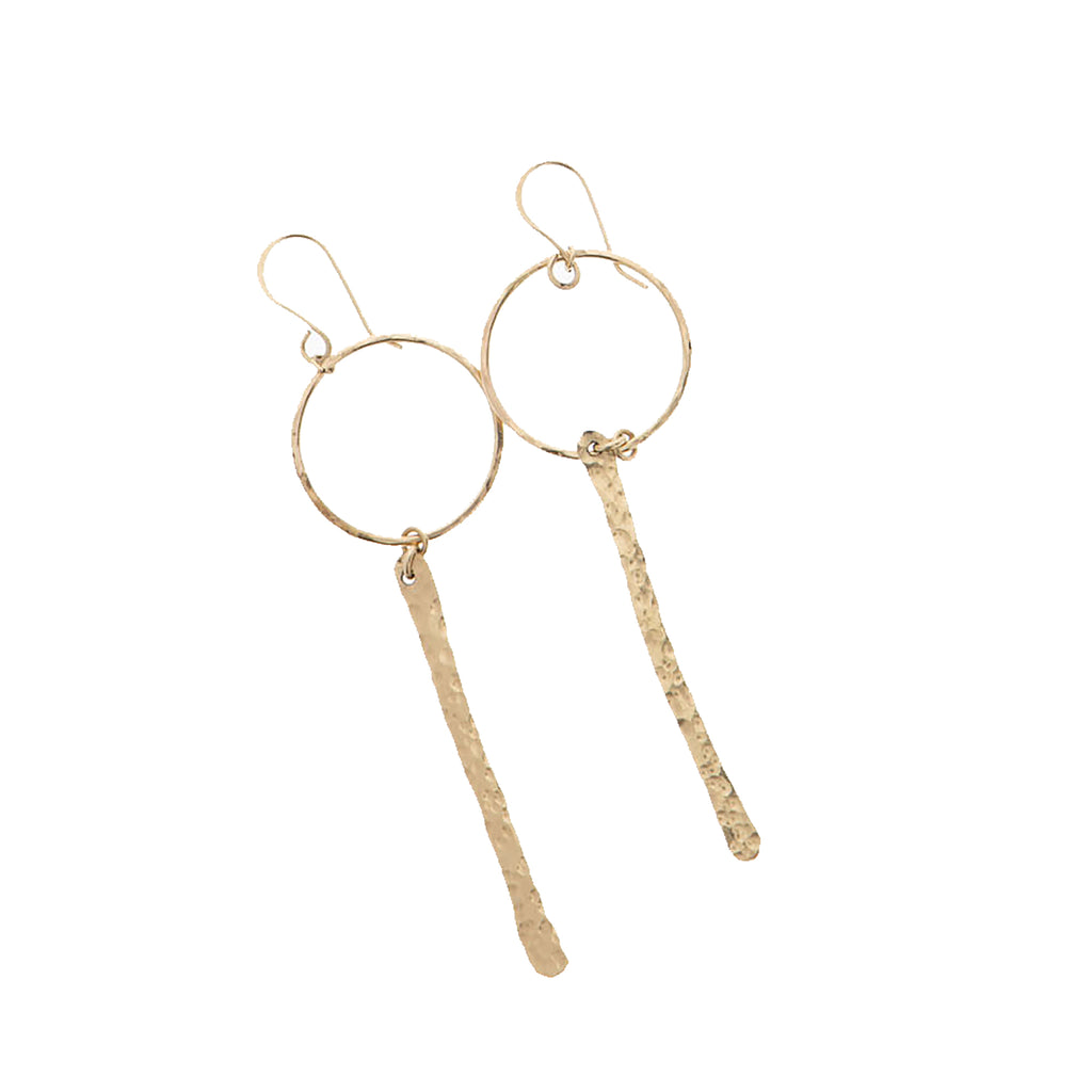 Luna Hoop Earrings - 21 Degrees North Designs