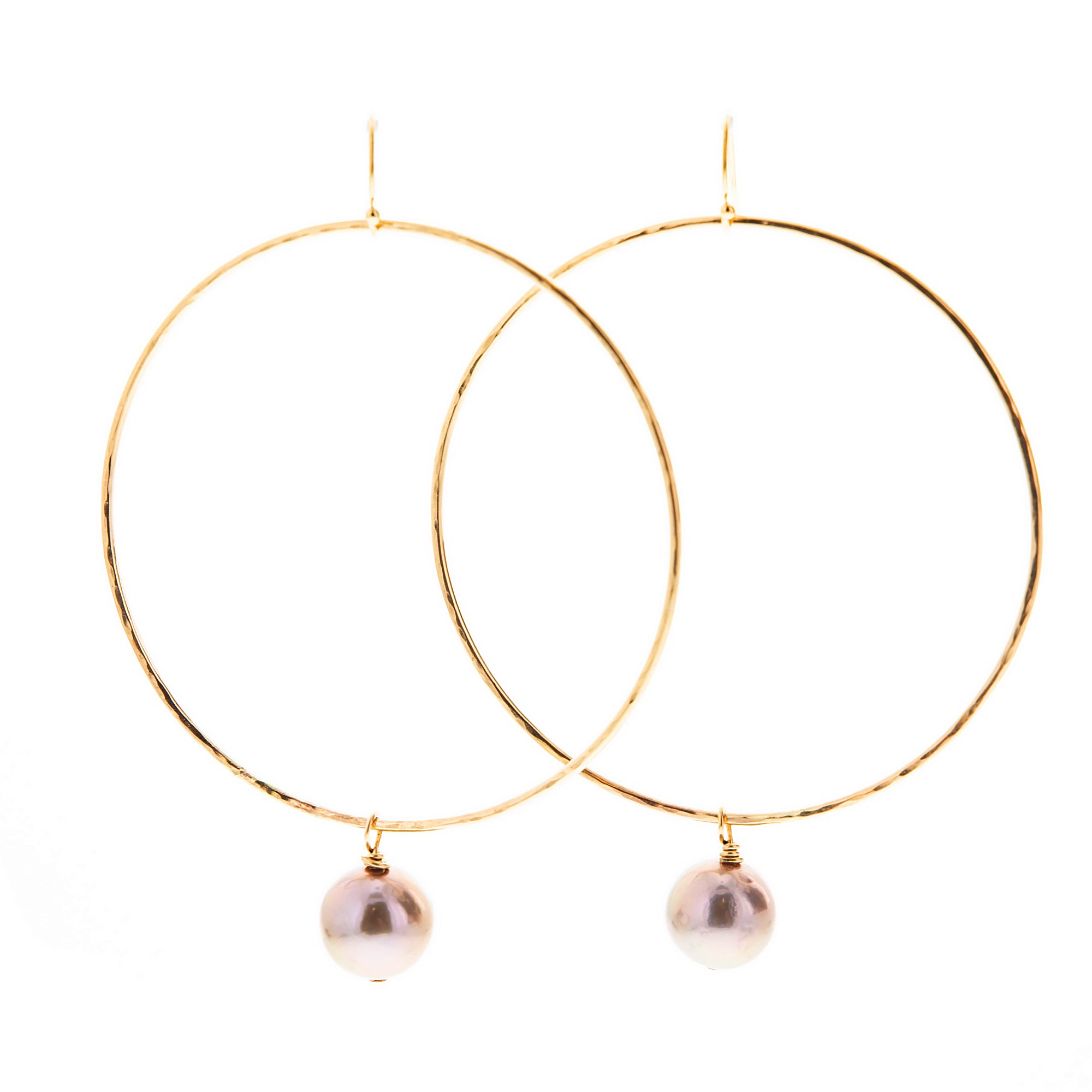 Alana Hoop Earrings - 21 Degrees North Designs