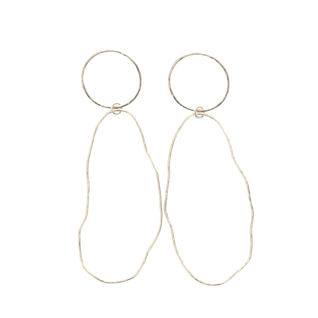Raiatea Hoop Earrings - 21 Degrees North Designs - 21ºN