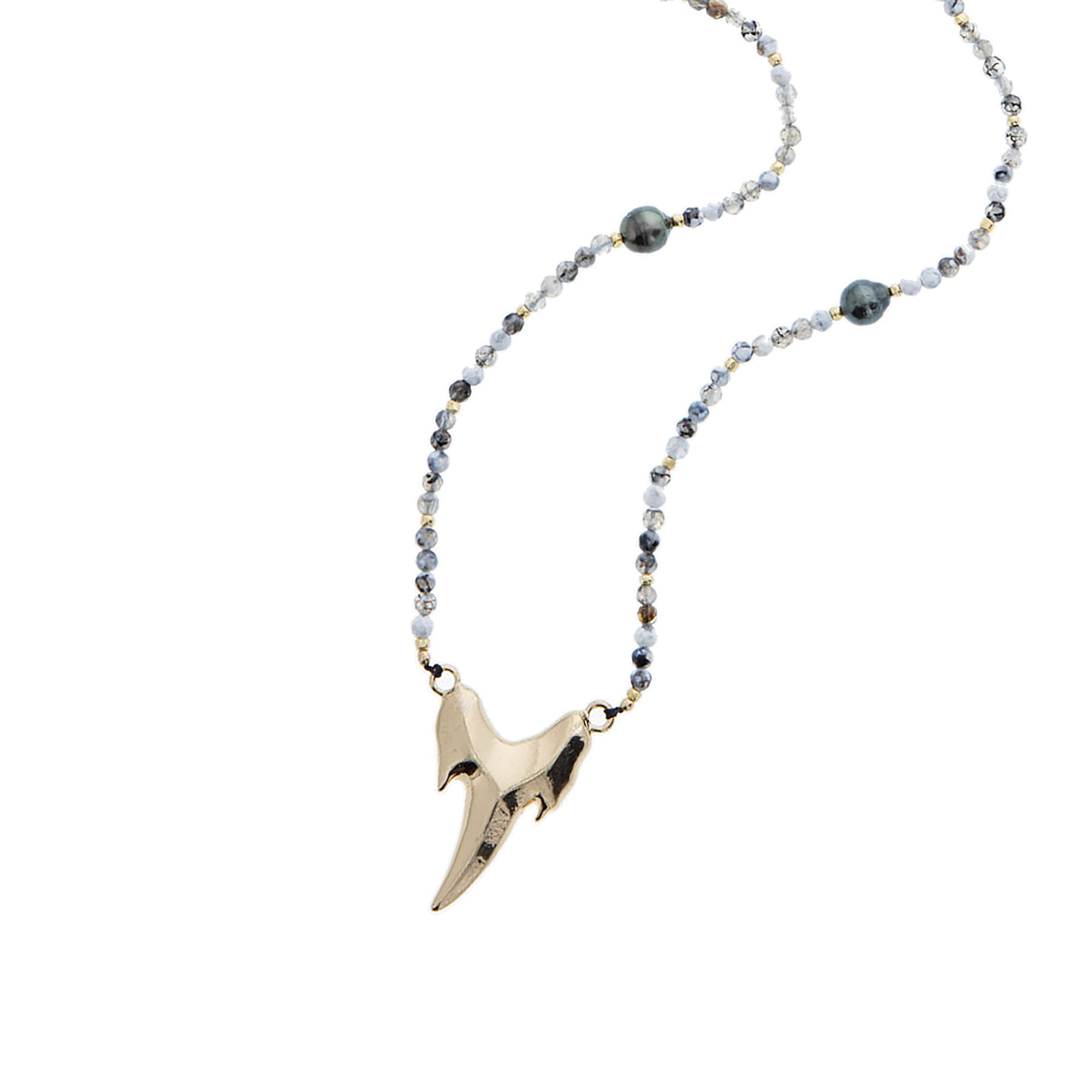 Niho Nui Necklace - 21 Degrees North Designs