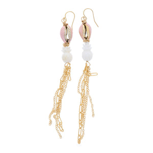 Pink Pineapple Earrings - 21 Degrees North Designs