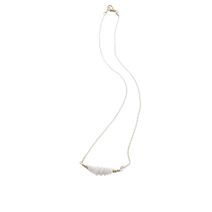 hawaiian puka shell choker necklace