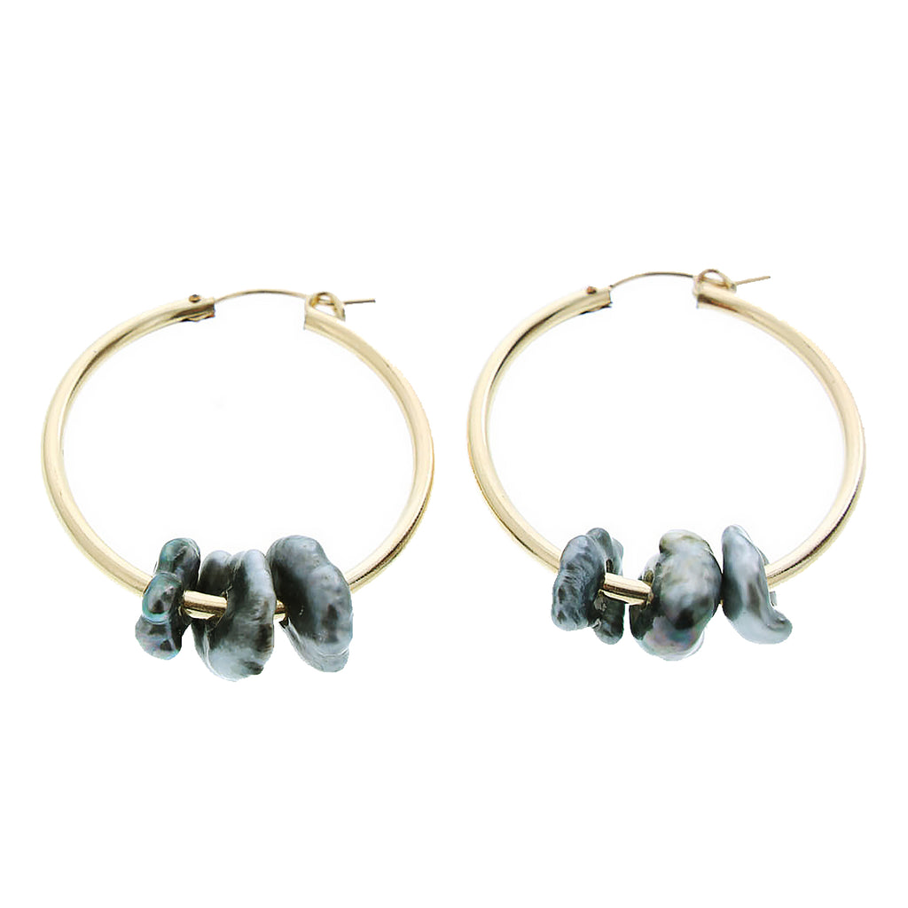 Kiko Hoops - 21 Degrees North Designs