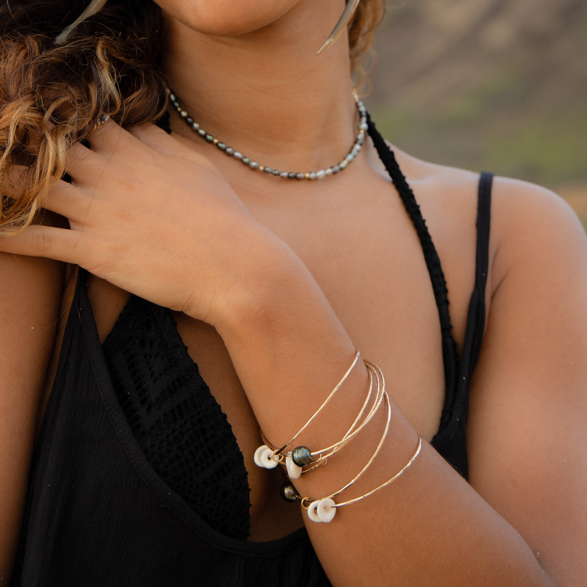 Hawaiki Bangle Set - 21 Degrees North Designs