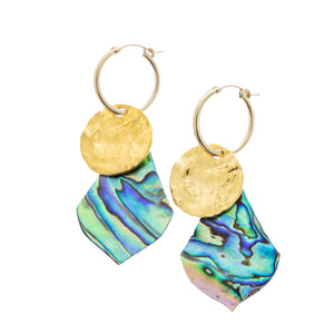Tahitian Moon Earrings - 21 Degrees North Designs