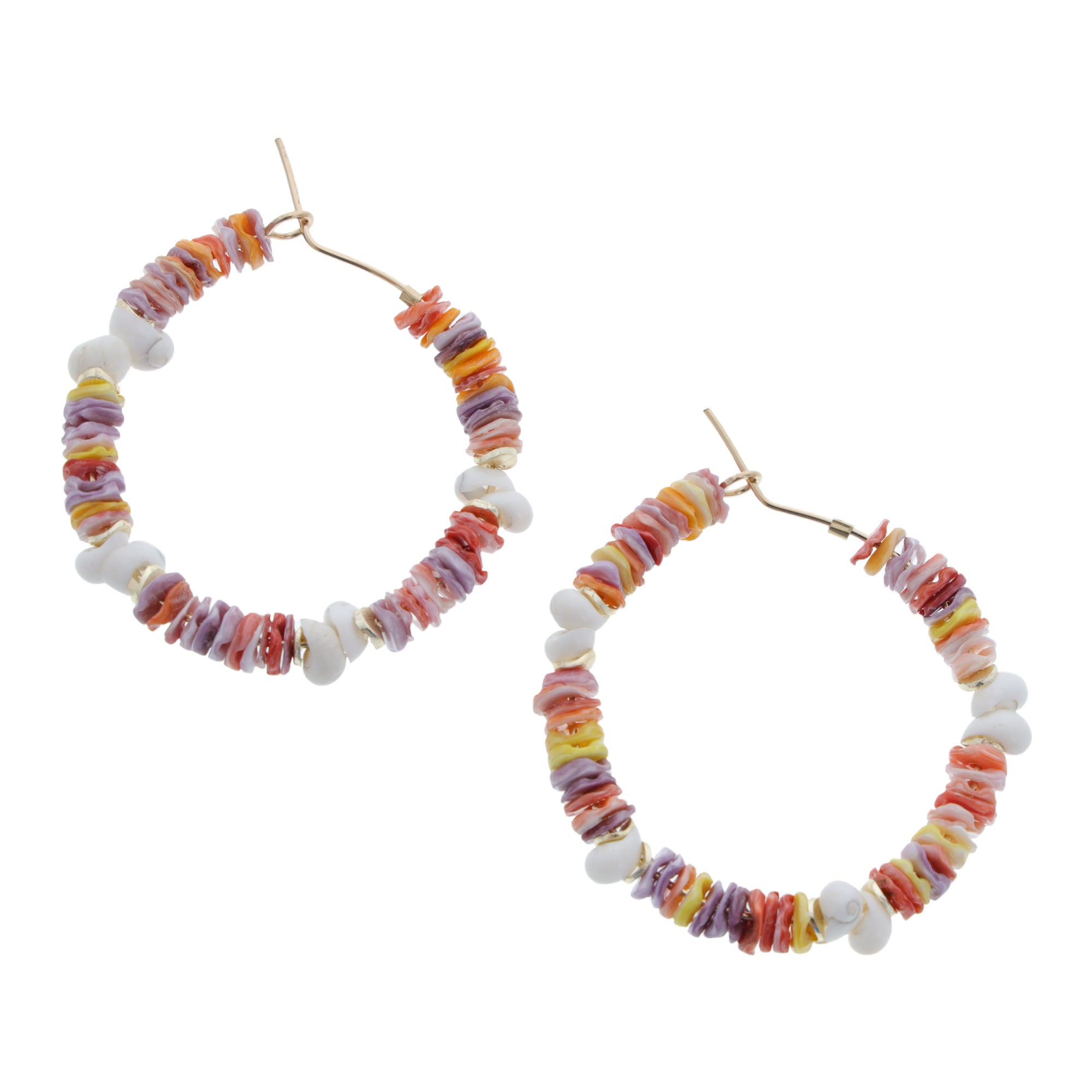 Temoe Hoop Earrings - 21 Degrees North Designs - 21ºN