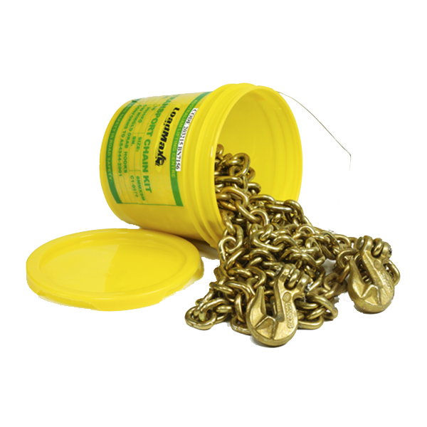 Chain Kit with Winged Grab Hooks