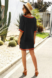 Palm Springs Coverup- Black