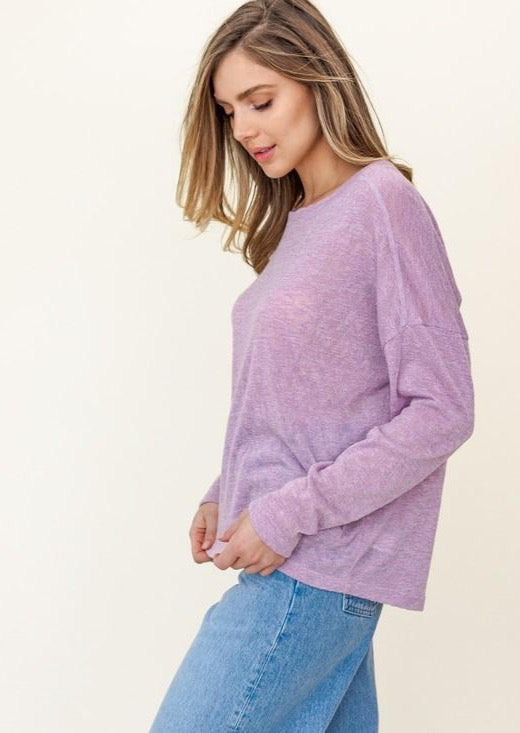 Lavender Love Top (extended sizes)