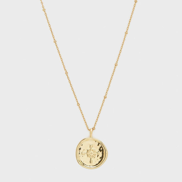 Gorjana - Compass Coin Necklace