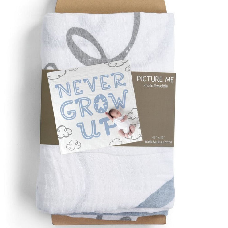 Baby Photo Swaddle Blankets