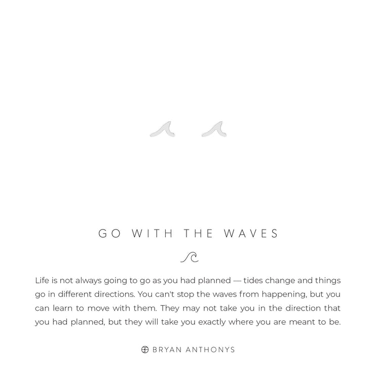 Go with the Waves Earrings