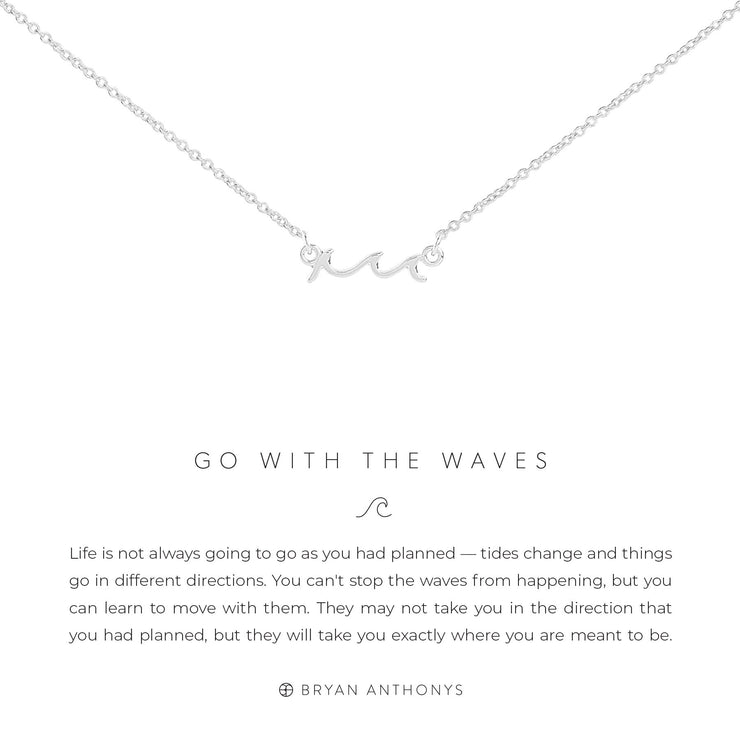 Go with the Waves Necklace