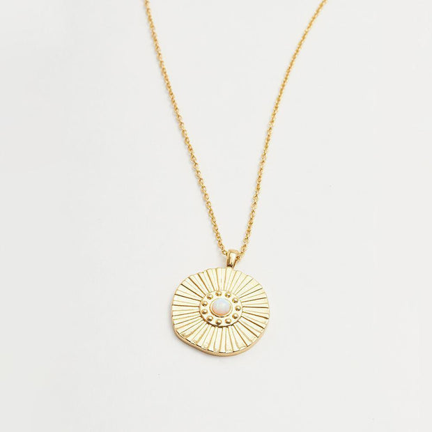 Gorjana - Sunburst Coin Necklace