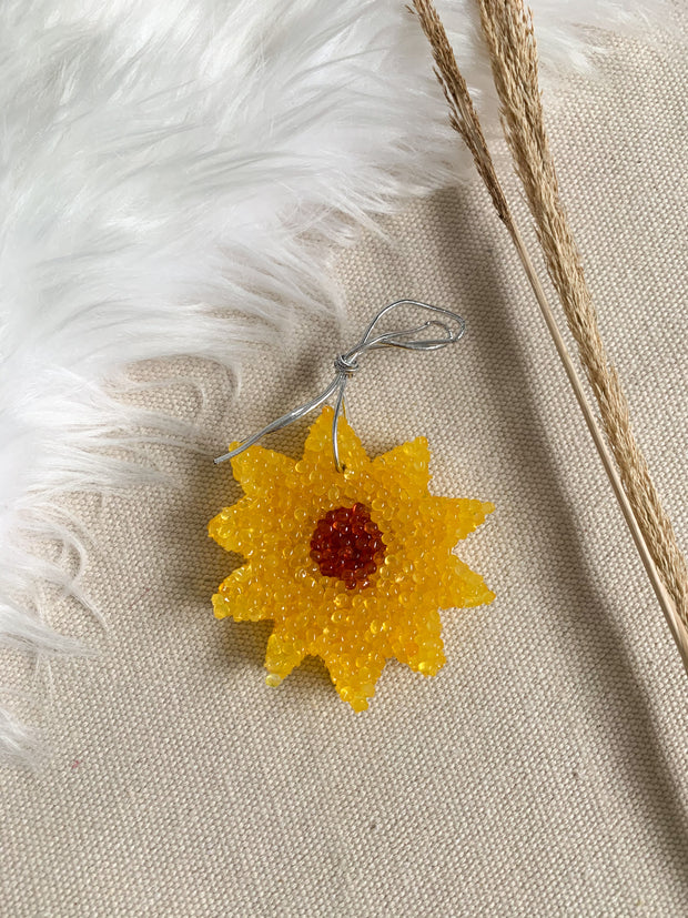 Freshie Sunflower - Leather & Lace Scent