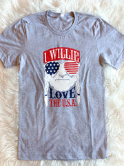 I Willie Love USA