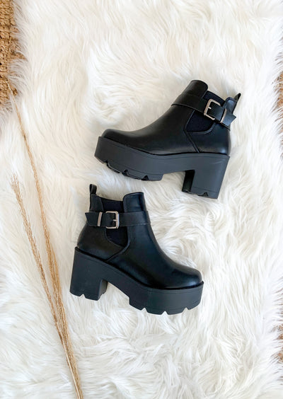 Rebel Chunky Bootie