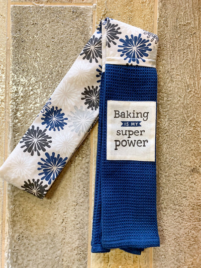 """Baking Is My Super Power"" - Kitchen Boa"