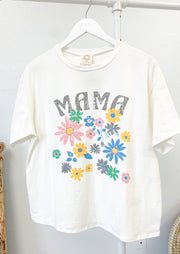 Mama Floral Graphic Tee