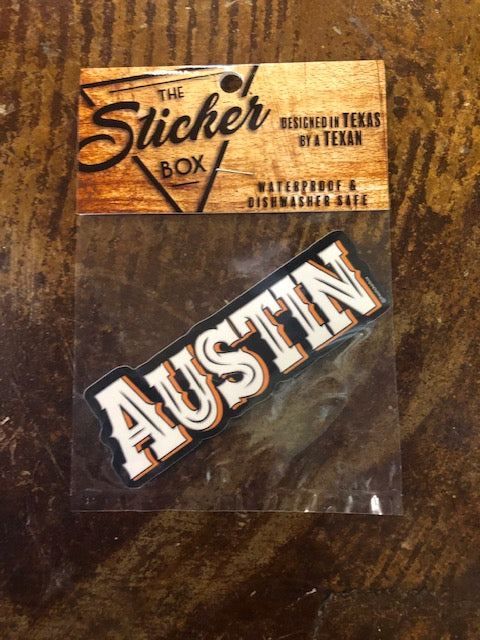 The Sticker Box Decals- ASSORTED