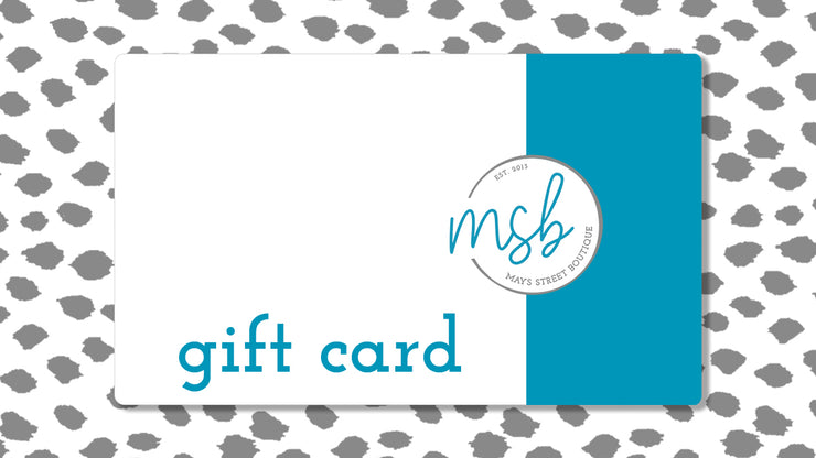 Mays Street Gift Card