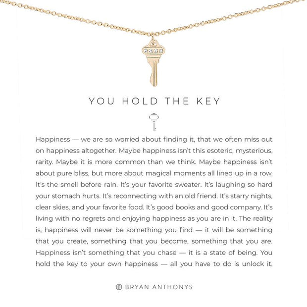 You Hold the Key Necklace