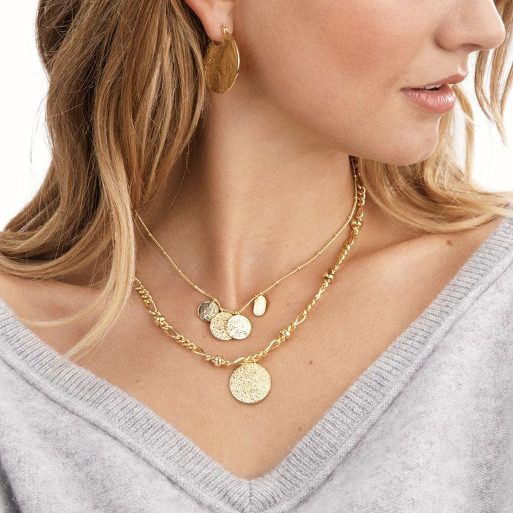 Gorjana - Banks Mixed Coin Necklace