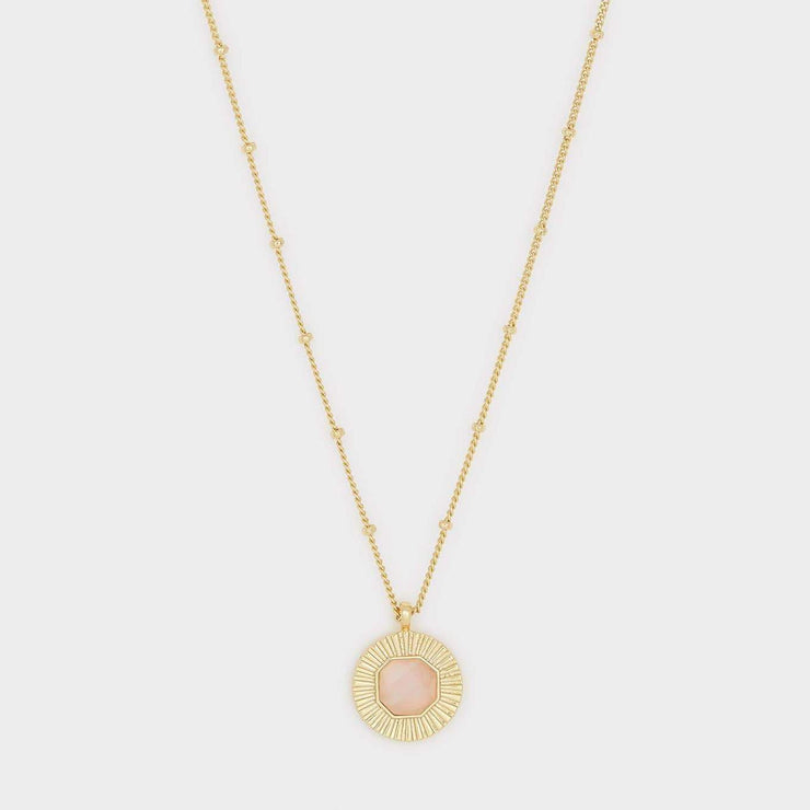 Gorjana - Power Gemstone Coin Neckalace for Love