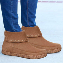 Load image into Gallery viewer, Women Winter Casual Slip-On suede Ankle Boots