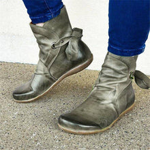 Load image into Gallery viewer, Women Casual Comfy Soft Leather Ankle Boots