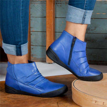 Load image into Gallery viewer, Women Casual Comfy Daily Zipper Ankle Boots