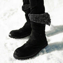 Load image into Gallery viewer, Winter Artificial Leather Warm Snow Boots Soft Fur Lined Casual Boots