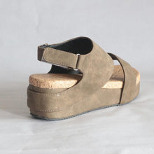 Load image into Gallery viewer, Wedge Sandals Summer Magic Tape Middle Heel Shoes
