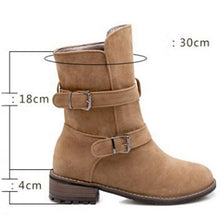 Load image into Gallery viewer, Women's Casual Slip-On Low Heel Boots