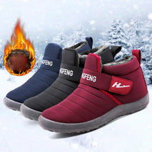 Load image into Gallery viewer, Women's casual and comfortable waterproof snow boots