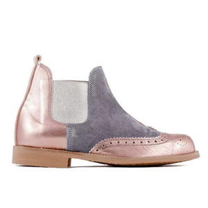 Plus Size Split Joint Chunky Heel Chelsea Boots