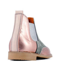 Load image into Gallery viewer, Plus Size Split Joint Chunky Heel Chelsea Boots