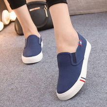 Load image into Gallery viewer, Women's Casual Breathable Canvas Loafers Plus Size