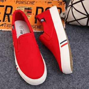Women's Casual Breathable Canvas Loafers Plus Size