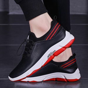 Casual PU Running shoes Sneaker   Breathable board shoes