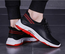 Load image into Gallery viewer, Casual PU Running shoes Sneaker   Breathable board shoes